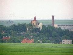 Kostel v Klobukách
